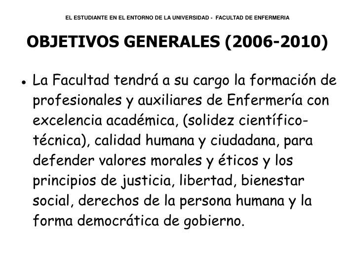 EL ESTUDIANTE EN EL ENTORNO DE LA UNIVERSIDAD -  FACULTAD DE ENFERMERIA