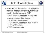 tcp control plane