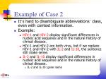 example of case 2