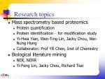 research topics1