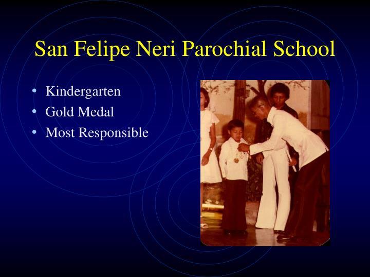 San felipe neri parochial school1