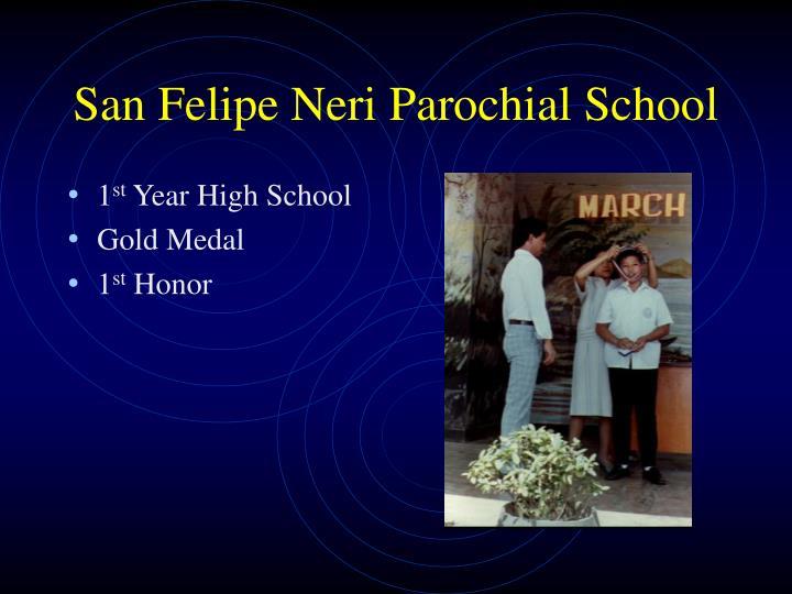 San Felipe Neri Parochial School