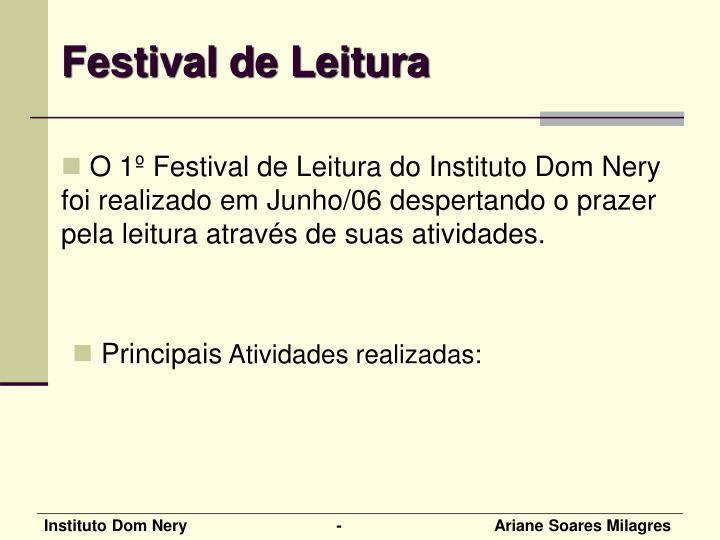 Festival de Leitura