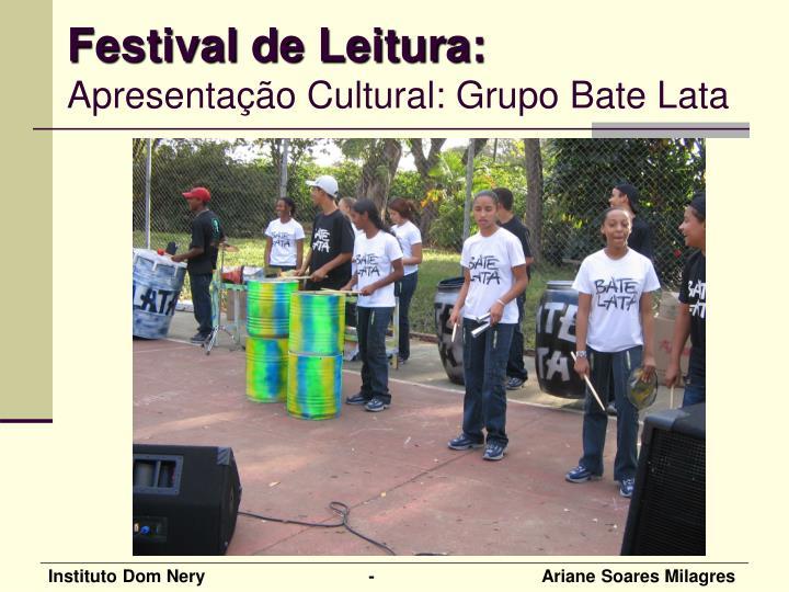 Festival de Leitura: