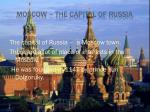 moscow the capital of russia