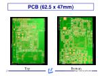 pcb 62 5 x 47mm