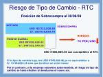 riesgo de tipo de cambio rtc4
