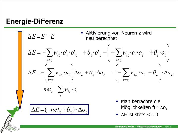 Energie-Differenz