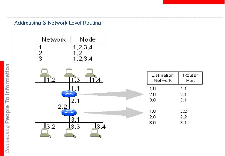Addressing & Network Level Routing