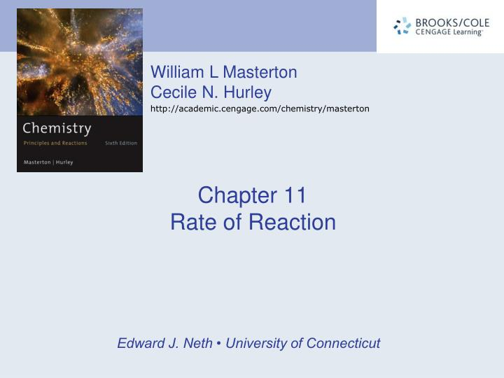 chapter 11 rate of reaction n.