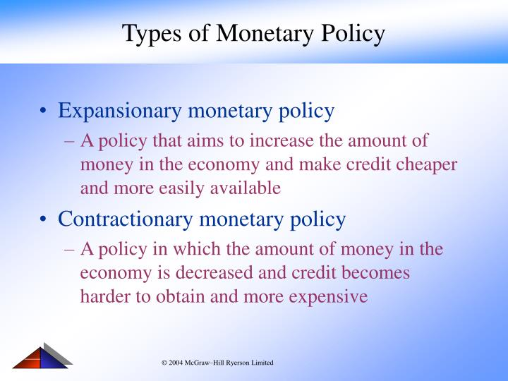limitations of monetary policy Limitations of monetary policy some limitations of monetary policy include: liquidity trap - this occurs when a cut in interest rates fail to stimulate economic activity eg because of low confidence or banks don't want to pass base rate cut onto consumers.