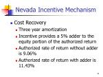 nevada incentive mechanism5