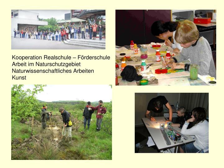 Kooperation Realschule – Förderschule