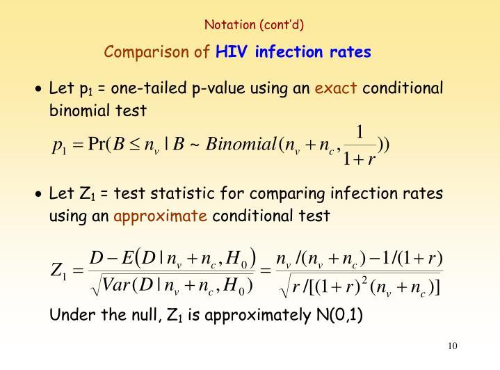 Notation (cont'd)