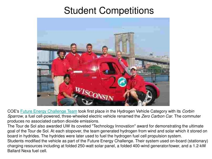 Student Competitions