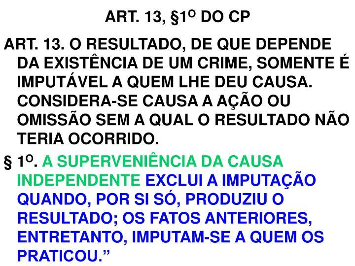 ART. 13,