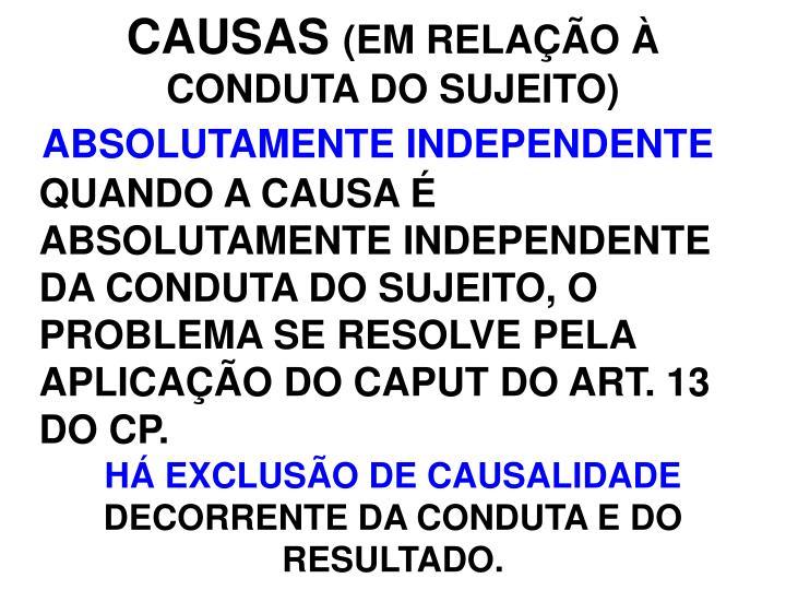 CAUSAS