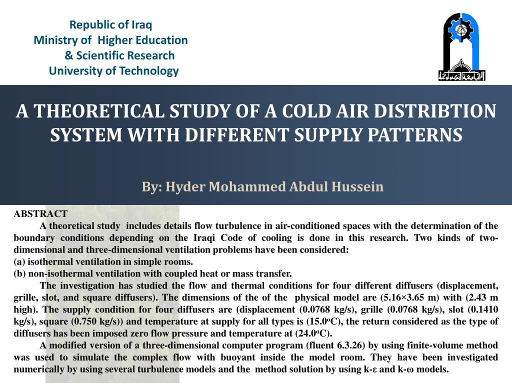 Ppt Republic Of Iraq Ministry Of Higher Education Scientific Research Powerpoint Presentation Id 4426169