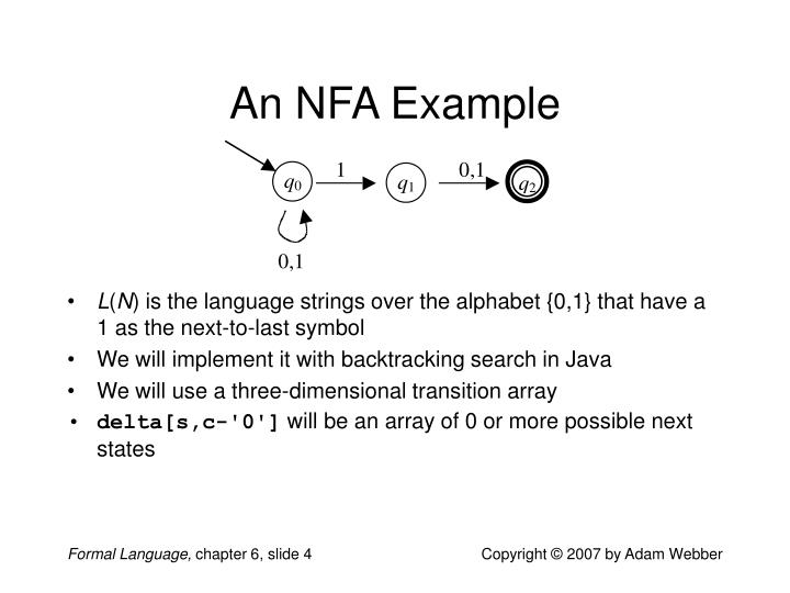 An NFA Example