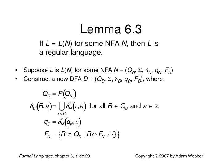 Lemma 6.3