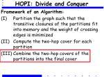 hopi divide and conquer