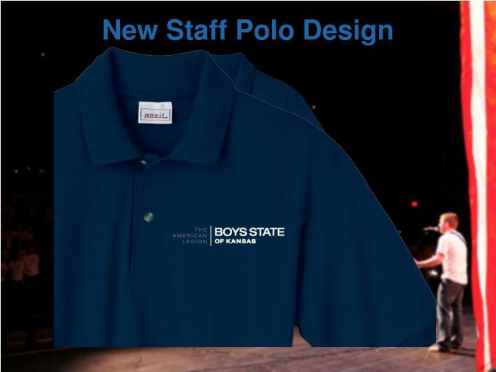 New Staff Polo Design