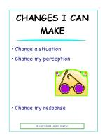 changes i can make