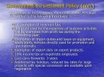 government s investment policy con3