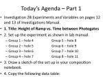today s agenda part 1