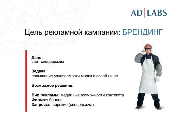 Цель рекламной кампании