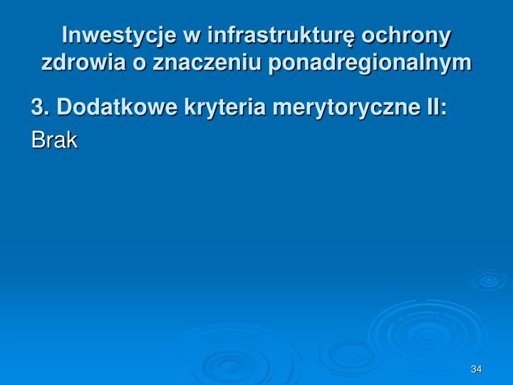 Inwestycje w infrastrukturę ochrony zdrowia o znaczeniu ponadregionalnym