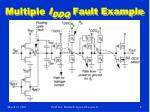 multiple i ddq fault example