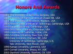 honors and awards2