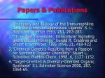 papers publications