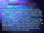 schreiber s research1