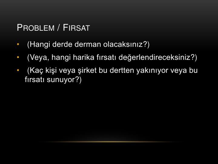 Problem f rsat