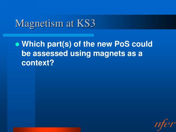 Magnetism at KS3