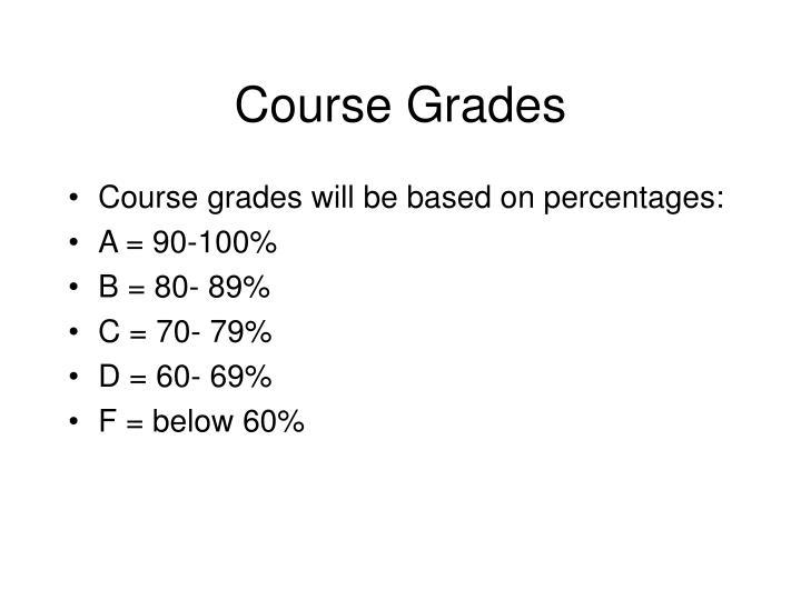 Course Grades
