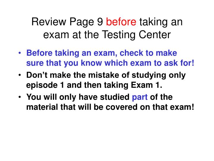 Review Page 9