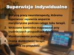 superwizje indywidualne