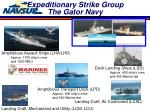 expeditionary strike group the gator navy