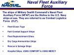 naval fleet auxiliary force