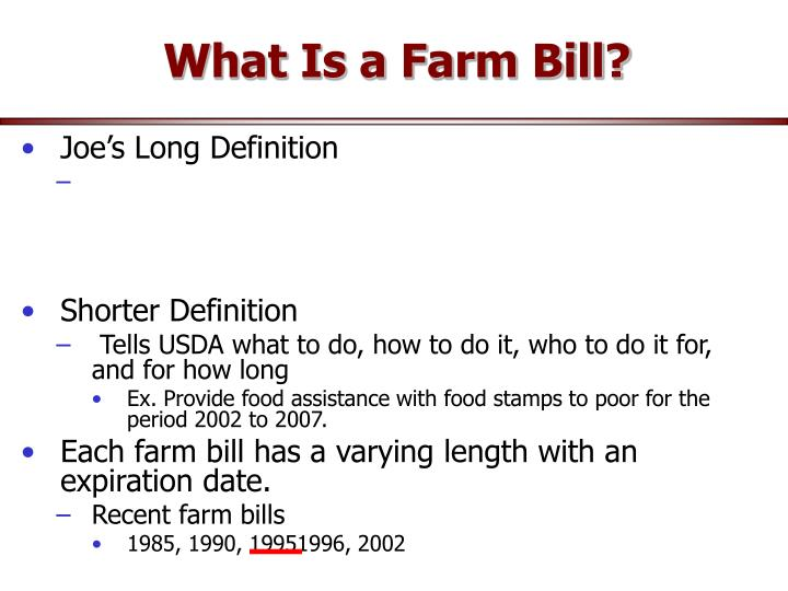what is a farmer
