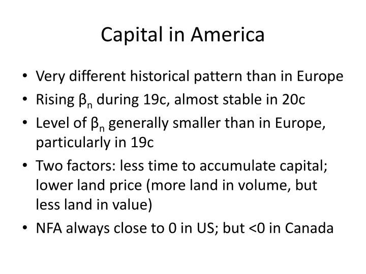 Capital in