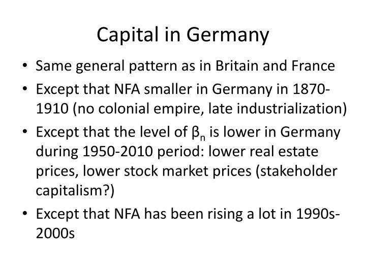 Capital in Germany