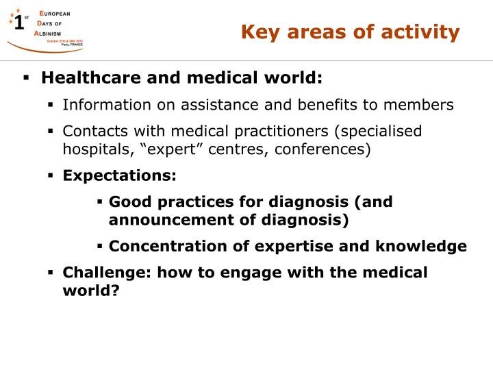 Healthcare and medical world: