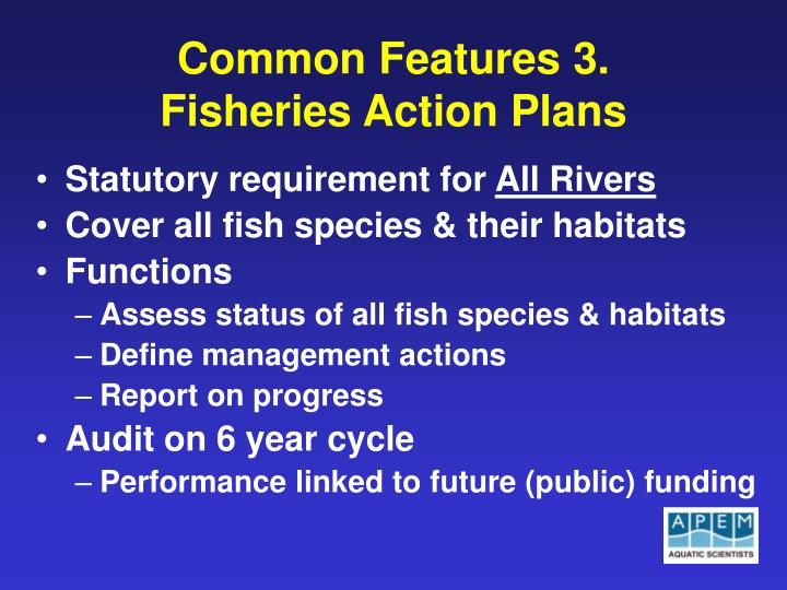 Common Features 3.