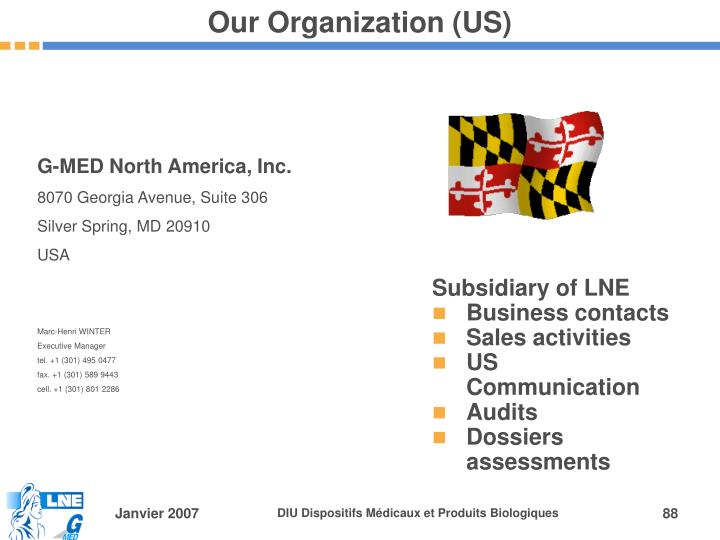 Our Organization (US)