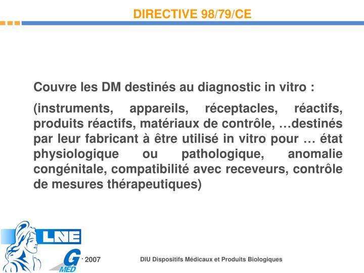 DIRECTIVE 98/79/CE