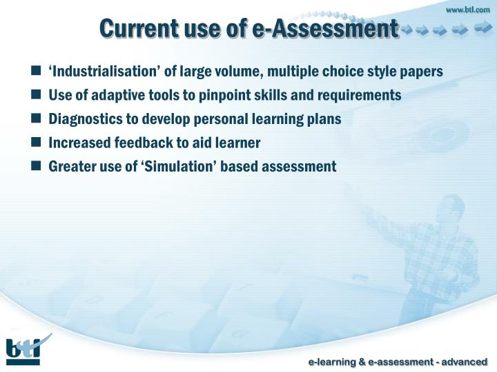 Current use of e-Assessment